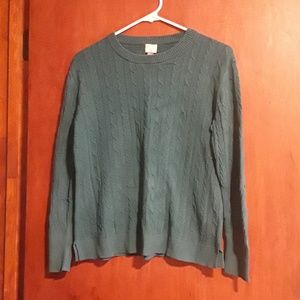 Emerald Green Sweater - will be donated on Friday